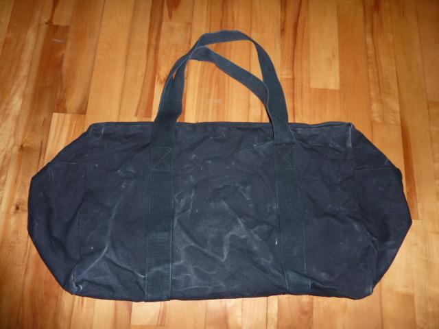 画像1: ロスコ コットン パラシュートキットバッグ (1)