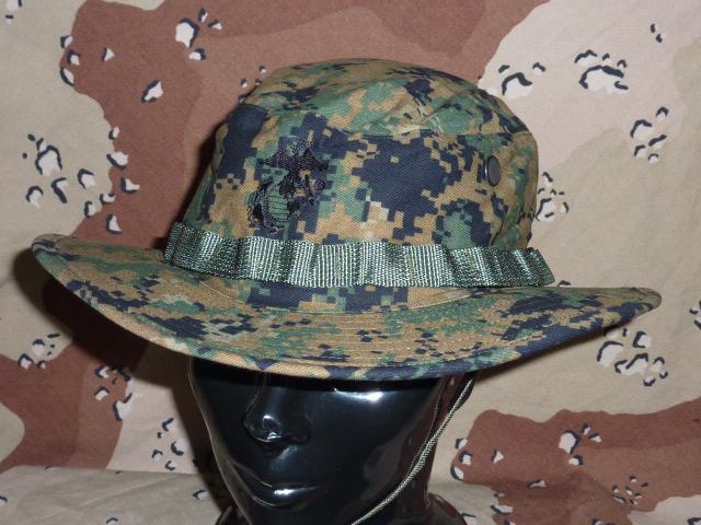 画像1: 米軍実物 新品 ウッドマーパットブーニーハット L (1)
