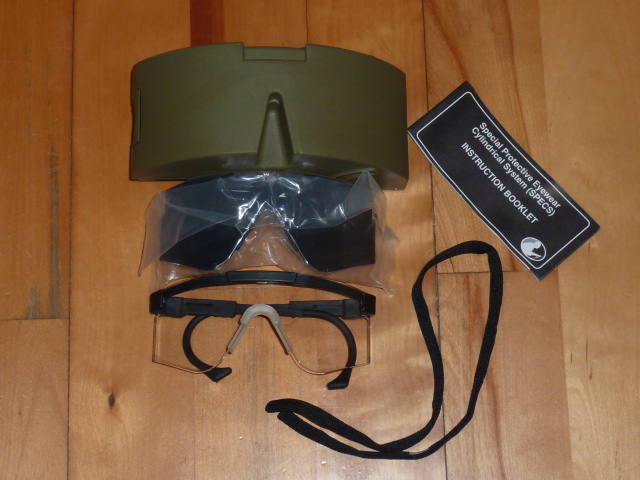 画像1: 米軍放出品,US ARMY,SPECSゴーグル (1)