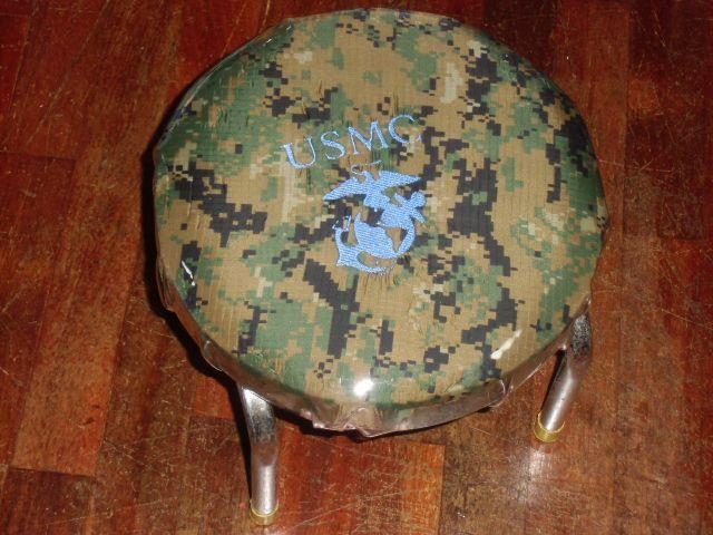 画像1: USMC,ピクセル柄 チェアー (1)