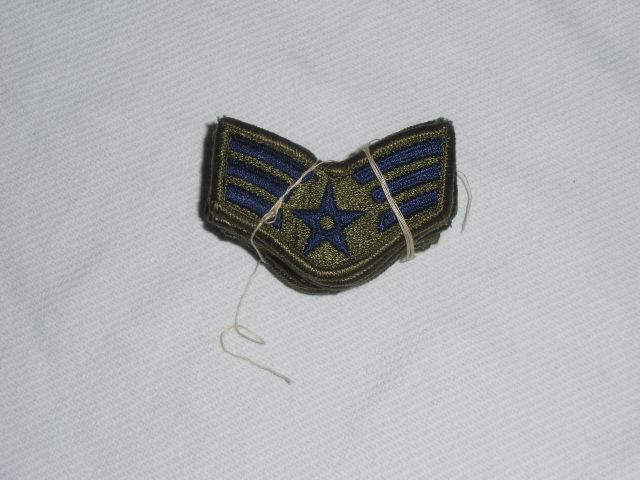 画像1: 米軍放出品.U,S,A,F. Senior Airman. 6ペア (1)
