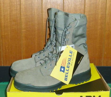 画像1: 米軍実物 Billeville ABU ブーツ 10,5R (1)