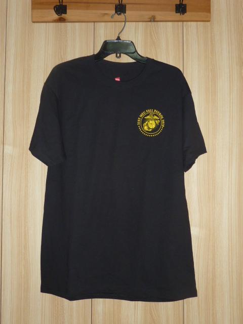 画像1: 米軍放出品,US MARINES T シャツ XL 2010 (1)