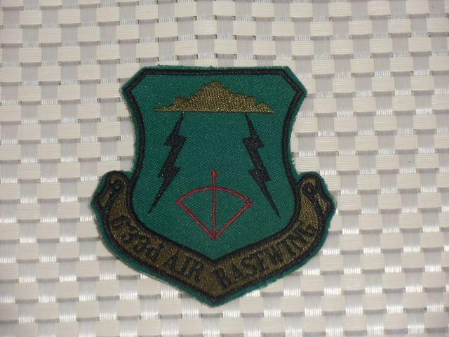 画像1: 米軍放出品. US AIR FORCE 633RD AIR BASEWING  (1)