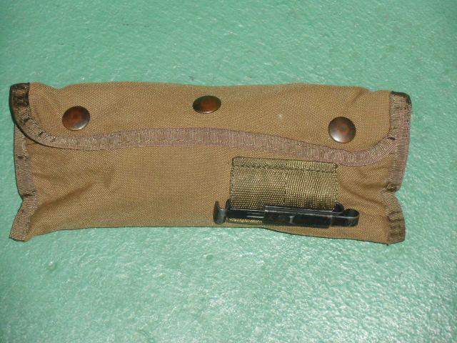 画像1: 米軍放出品. クリーニングキット セット コヨーテ (1)