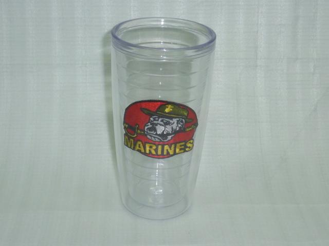 画像1: 米軍放出品,USMC プラカップ (1)