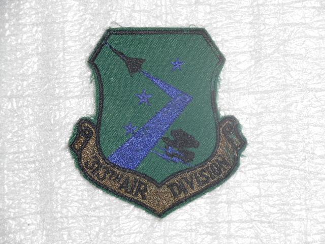 画像1: 米軍実物. USAF 313th Air Division (1)