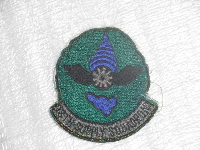 画像1: 米軍実物. USAF 18TH SUPPLY SQUADRON  (1)