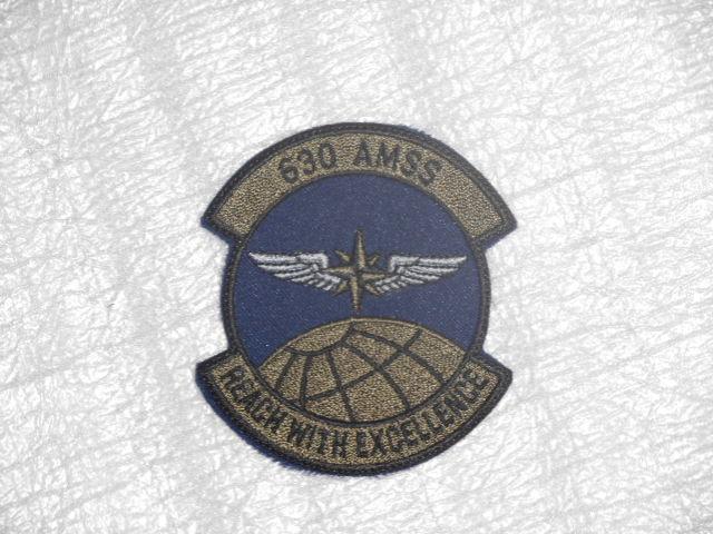 画像1: 米軍実物. 630th AIR MOBILITY SUPPORT SQUADRON (1)