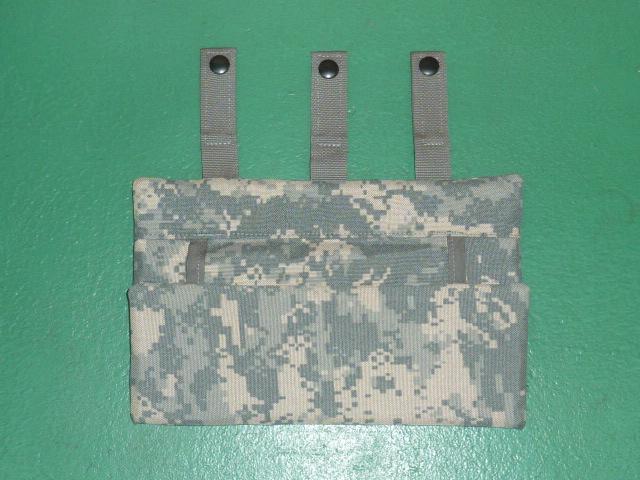 画像1: 米軍放出品,ACU DBT ボディーアーマー パーツ ヒップ (1)