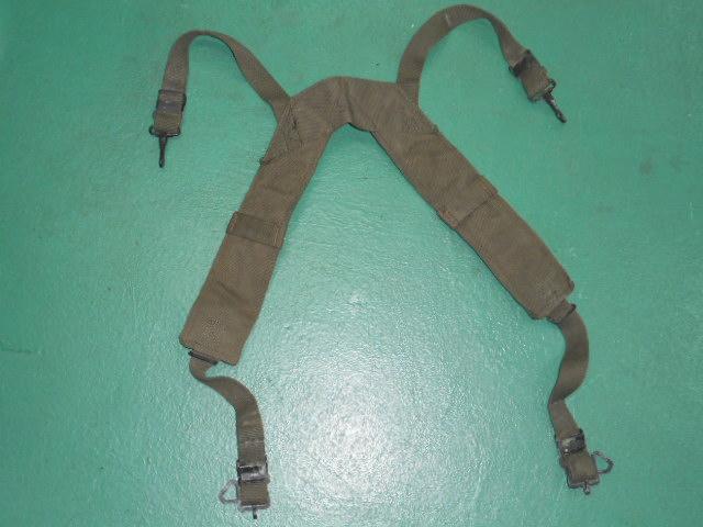画像1: 米軍実物, SUSPENDERS, FIELD PACK  サスペンダー    (1)