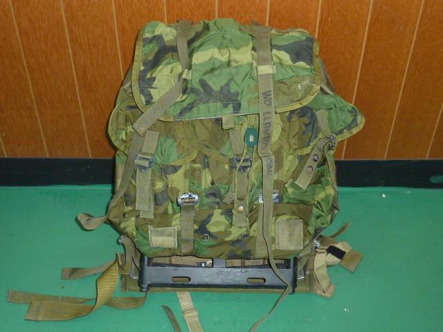 画像1: 米軍放出品,LC-1 M アリスバッグ フレームセット (1)