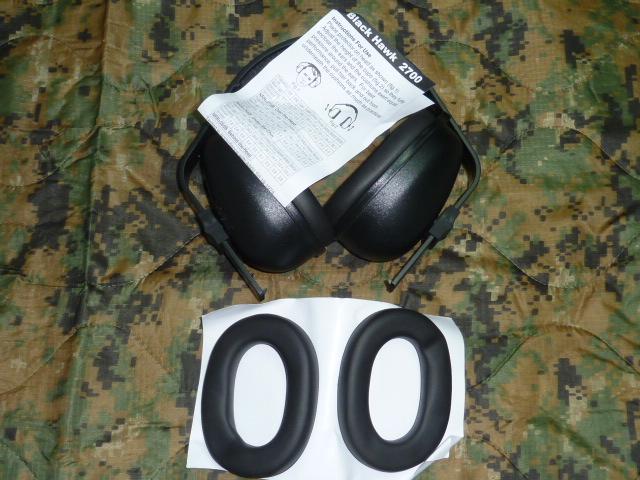 画像1: 米軍放出品,BLACKHAWK イヤープロテクター (1)