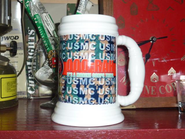 画像1: 米軍放出品,USMC マグカップ (1)