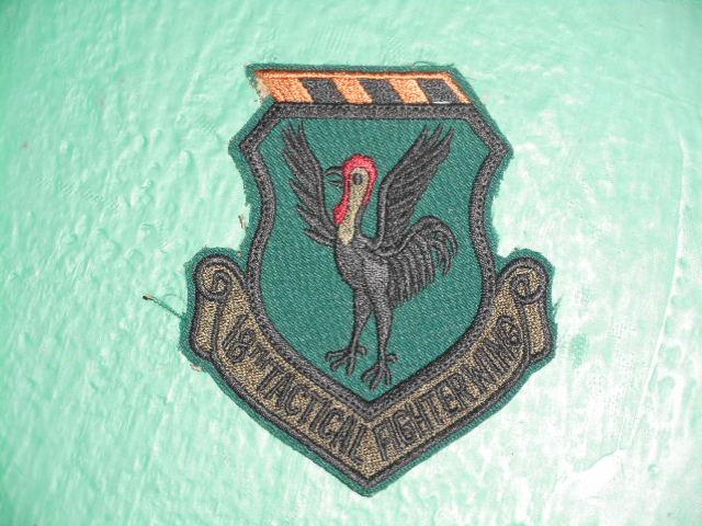 画像1: 米軍実物.USAF 18th Tactical Fighter Wing (1)