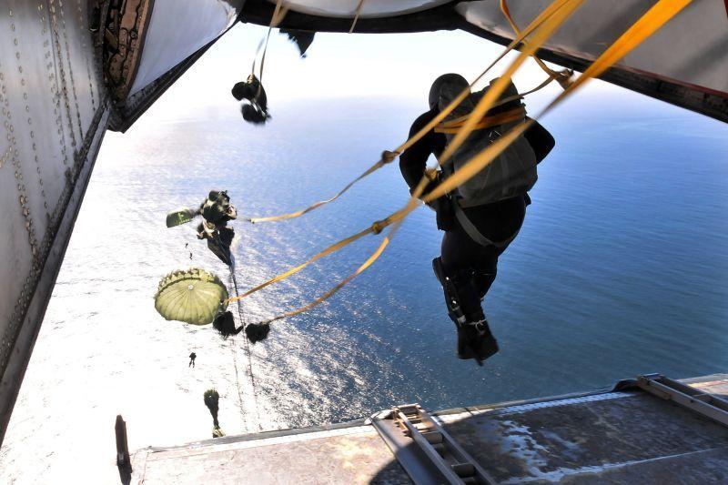 画像1: 米軍実物,Parachute Static Line (1)