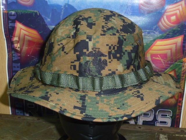 画像1: 米軍実物,ウッドマーパットブーニーハット XL (1)