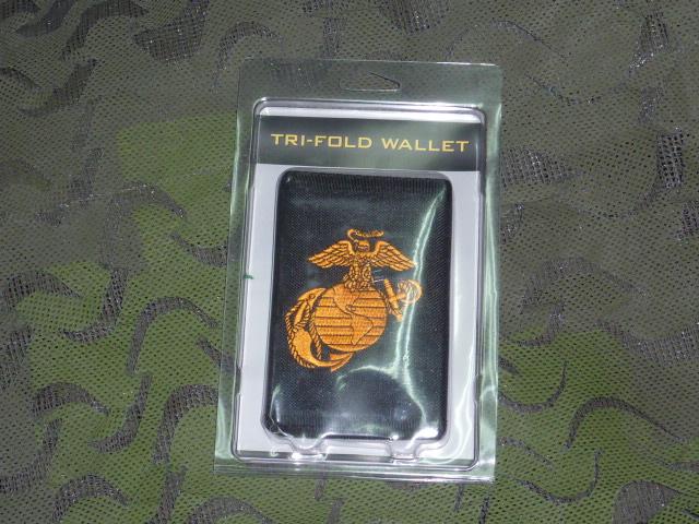 画像1: 米軍放出品 U.S.MARINE 公認 ナイロンウォレット (1)