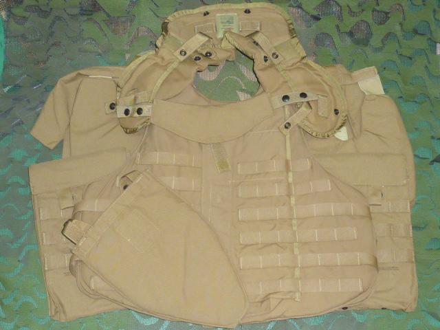 画像1: 米軍実物 インターセプターボディーアーマー(フルセット) M (1)