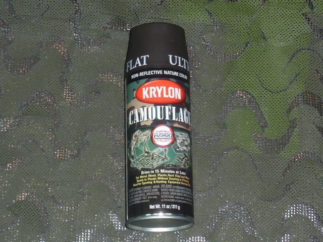 画像1: 米軍放出品,KRYLON ミリタリーウッドランド BROWN  (1)