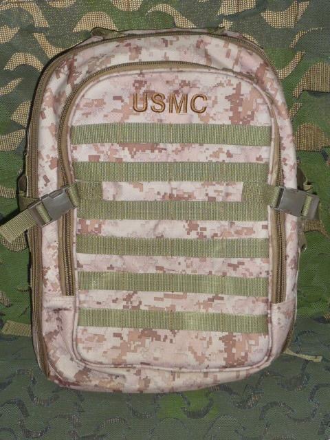 画像1: 米軍放出品,デザートピクセルバックパック (1)