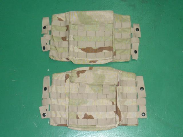 画像1: 米軍実物 デザート3C サイドプレート ESBI CARRIER  (1)