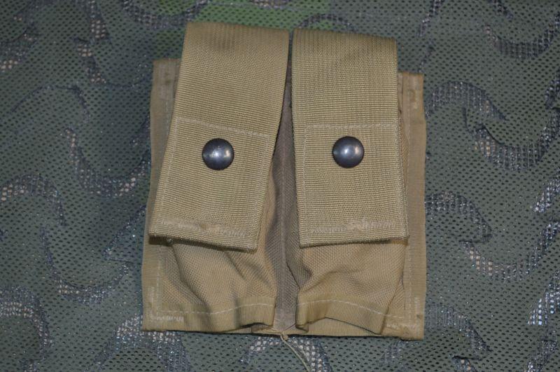 画像1: 米軍実物,MOLLE II 40MM PYROTECHNIC  POUCH(DOUBLE) (1)