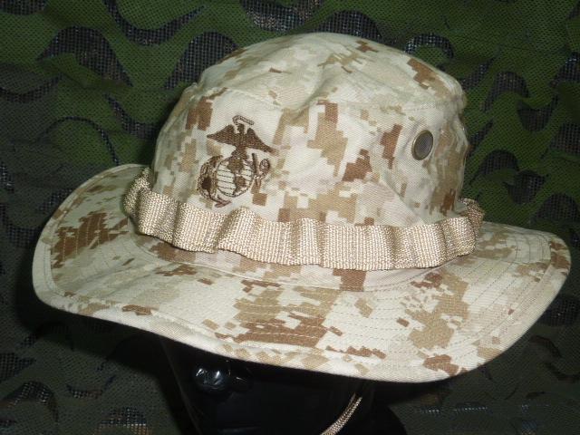 画像1: 米軍実物,デザートマーパットブーニーハット L (1)