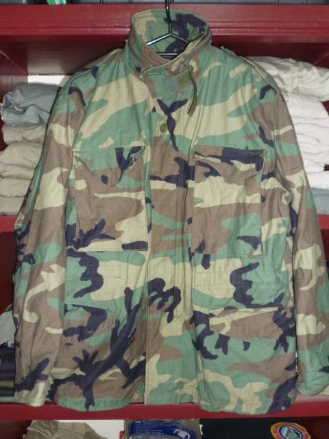 画像1: 米軍実物,M-65フィールドジャケット M-S (1)