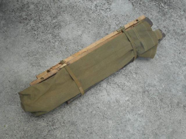 米軍実物 折りたたみ野戦 ベッド 寝袋、寝具