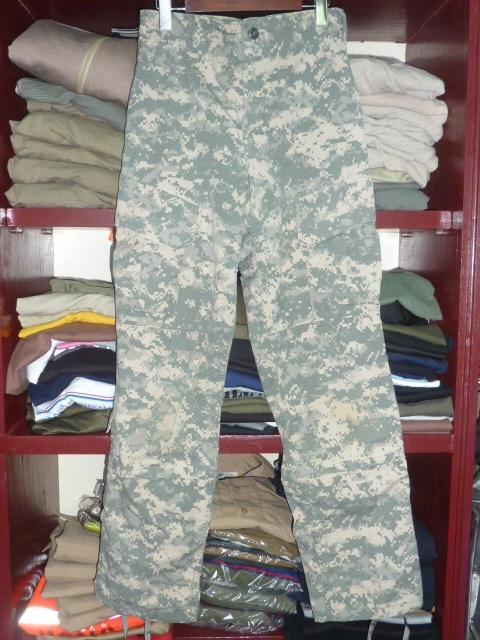 画像1: 米軍放出品,US ARMY ACU パンツ XS-R (1)