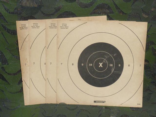 画像1: 米軍放出品 Pistol Targets  ターゲット 的 (1)