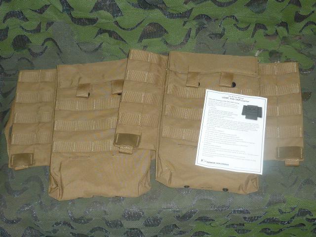 画像1: 米軍実物 USMC SIDE SAPI BALLISTIC CARRIER  (1)