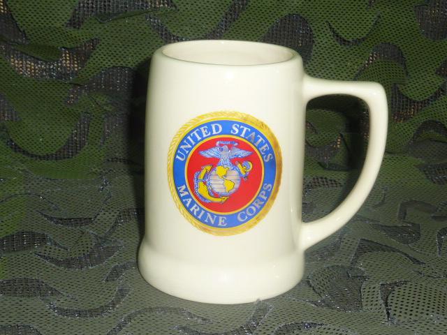 画像1: 米軍放出品,US MARINES マグカップ (1)