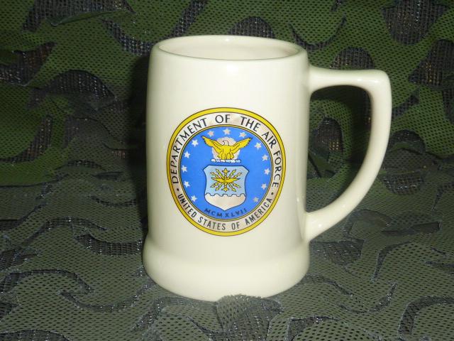 画像1: 米軍放出品,US AIR FORCE マグカップ (1)