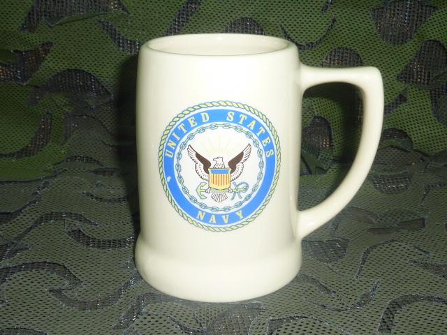 画像1: 米軍放出品,US NAVY マグカップ (1)