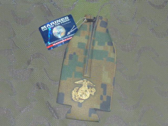 画像1: 米軍放出品 USMC 公認 クージー ボトル ホルダー (1)