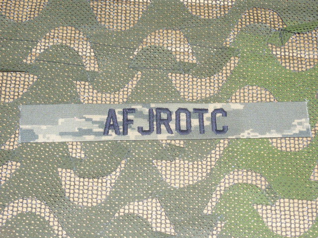 画像1: 米軍実物 U.S.AIR FORCE ABU ワッペン Junior Reserve Officers' Training Corps (1)