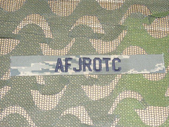 画像1: 米軍実物 U.S.AIR FORCE ABU ワッペン Junior Reserve Officers' Training Corps (1)