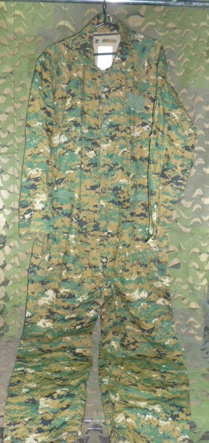 画像1: 米軍放出品,TRU-SPEC CWU/27P ウッドランドマーパットカバーオール/つなぎ XL (1)