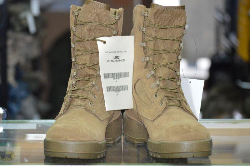 画像1: 海兵隊実物 McRae FootWear マーパットブーツ 10R (1)