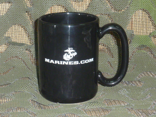 画像1: 米軍放出品,US MARINE 沖縄 マグカップ (1)
