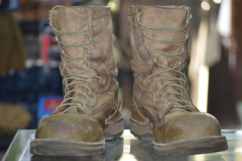 """画像1: 海兵隊実物 DANNER USMC RAT 8"""" MOJAVE HOT 15610X 11.5 R (1)"""