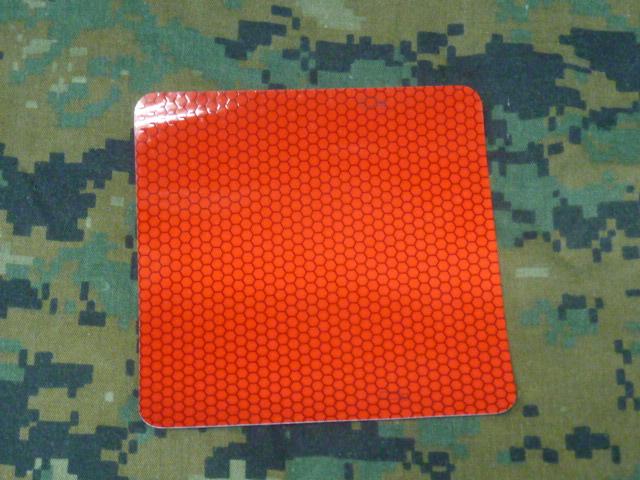 画像1: 米軍実物, 軍用車両 特殊 反射ステッカー (1)