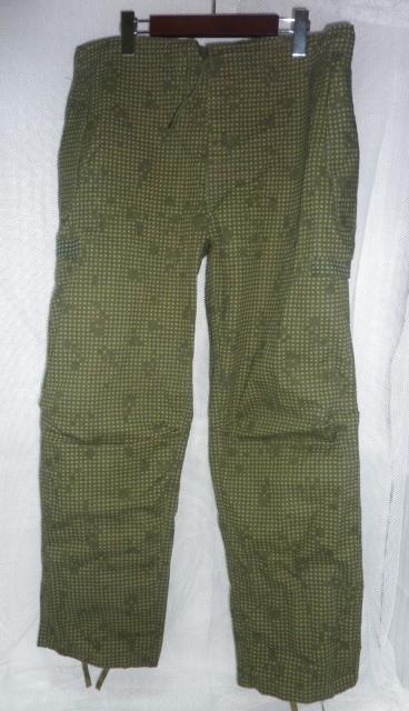 画像1: 米軍実物,ナイトカモフラージュパンツ M-R (1)