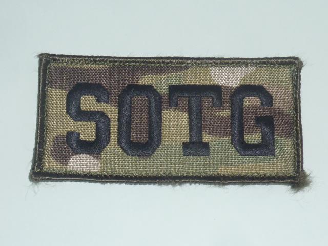 画像1: 米軍実物 IIIMEF SOTG パッチ マルチ (第3海兵遠征軍・特殊作戦訓練群) (1)