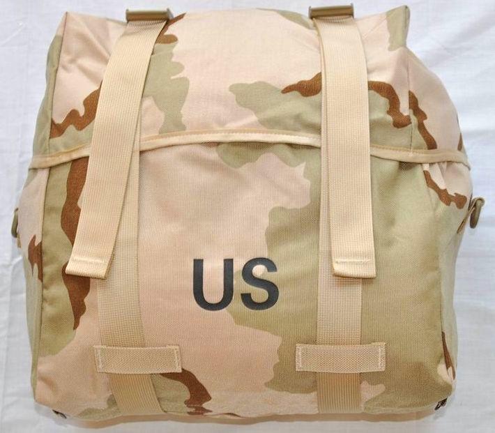 画像1: 米軍実物 MOLLEII 3C デザート   スリーピング キャリアー (1)