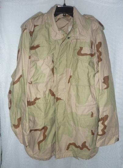 画像1: 米軍実物 デザート3c M-65フィールドジャケット S-L (1)