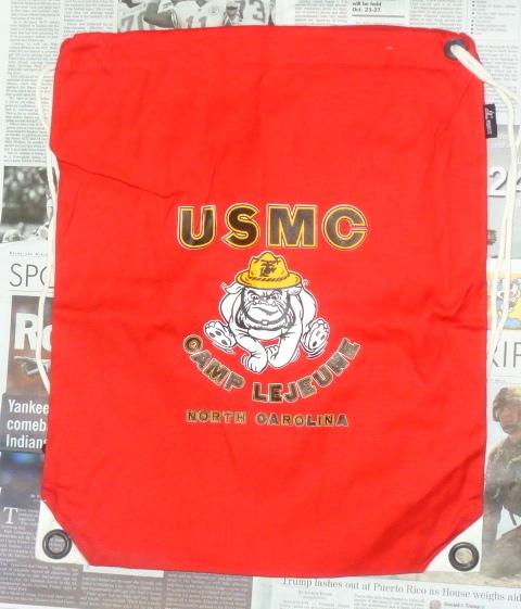 画像1: 米軍放出品 USMC ナップザック (1)