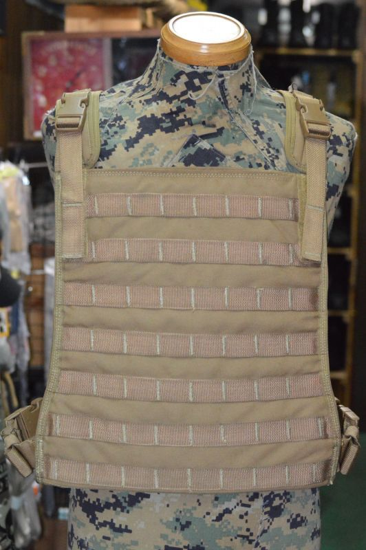 画像1: 米軍実物 FSBE PLATE CARRIER L/XL MBSS   ALLIED MEU MARSOC RECON (1)